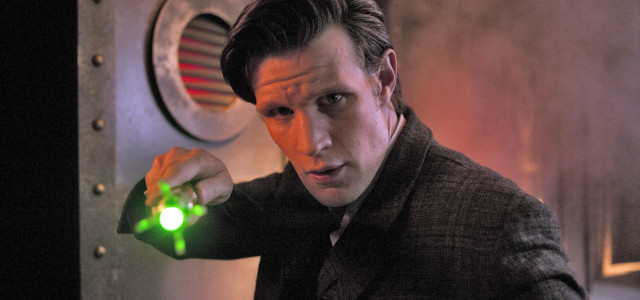 Matt Smith series 8 &#8220;filming at the end of this...